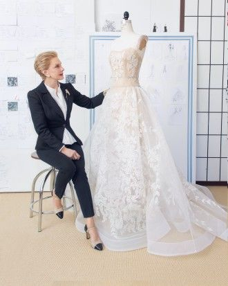 The making of a dress: Behind-the-Seams with Carolina Herrera & Martha Stewart Weddings