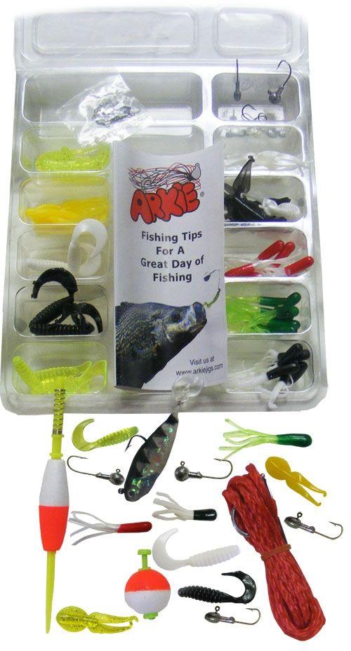 Bass and panfish lure kit combination of bass panfish for Bass fishing lure kits