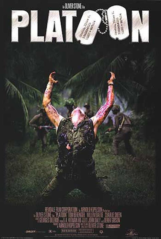 Film analysis of platoon 1986