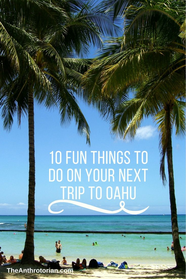 10 Fun Things to Do on The Island of Oahu | Oahu attractions, sights, and sightseeing | Oahu things to do | free activities on Oahu | Best of Oahu | Oahu points of interest