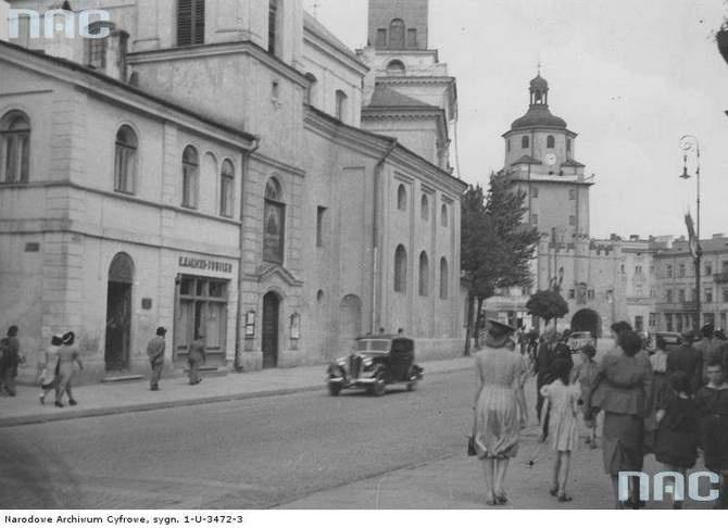 Krakowskie Przedmieście 1939