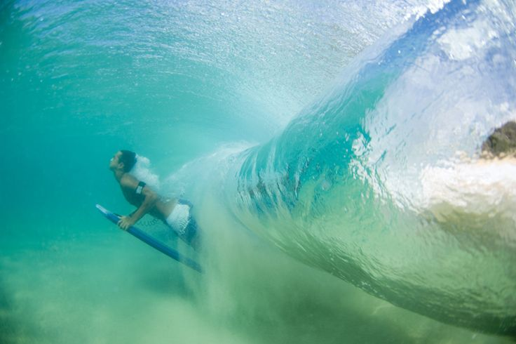 How to duck dive on a bodyboard
