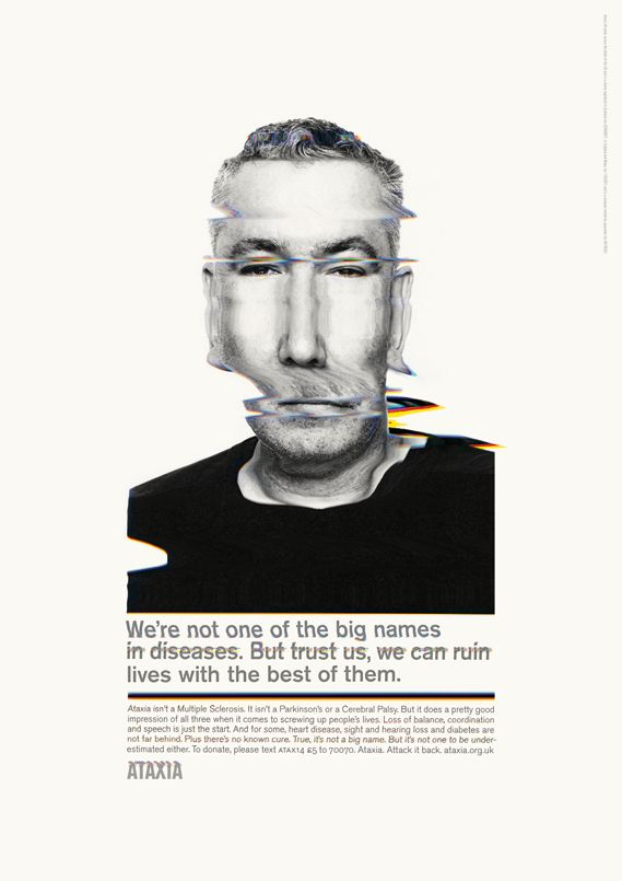 TBWA, Paul Belford & Rankin launch campaign for Ataxia UK - Creative Review