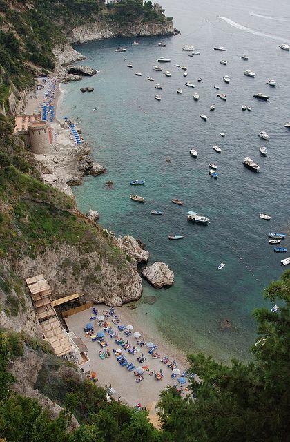 Marina di Conca and spiaggia della Vite, Campania, Italy