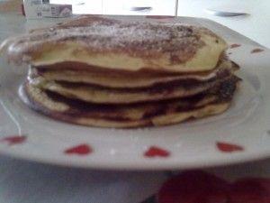 ricetta pancake!