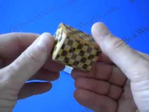 Mame 14 Step Japanese Puzzle Box by Yoshio Okiyama!  SPOILER ALERT!