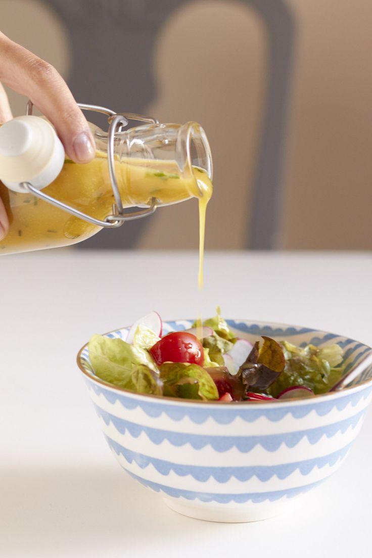 Meine Salatdressing Geheimwaffe: Honig-Senf-Dressing | tastesheriff
