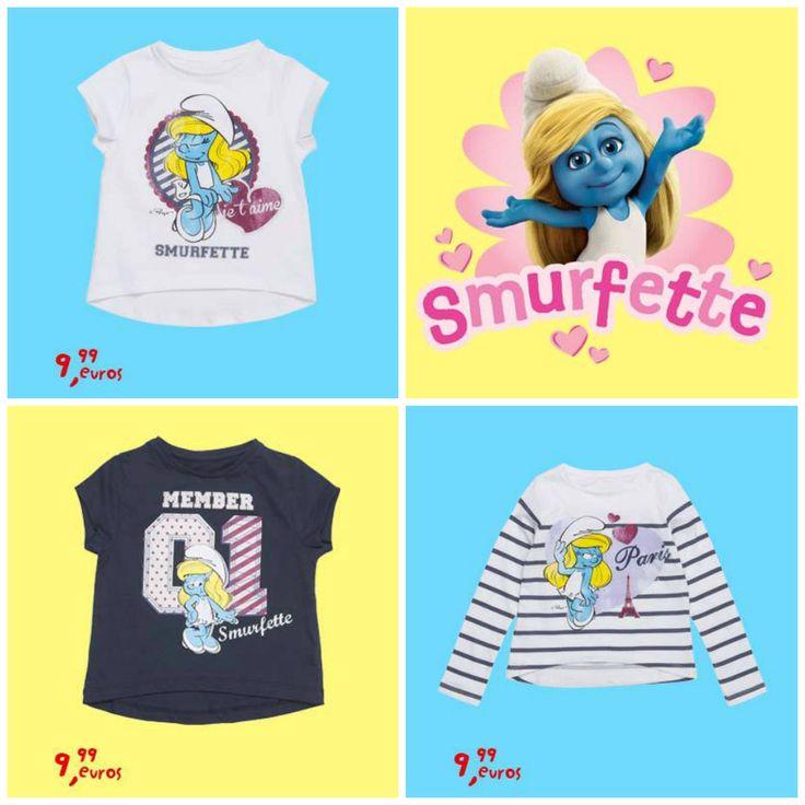 Camisetas Los Pitufos Zippy