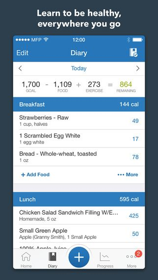 Calorie Counter & Diet Tracker by MyFitnessPal on the App Store on iTunes