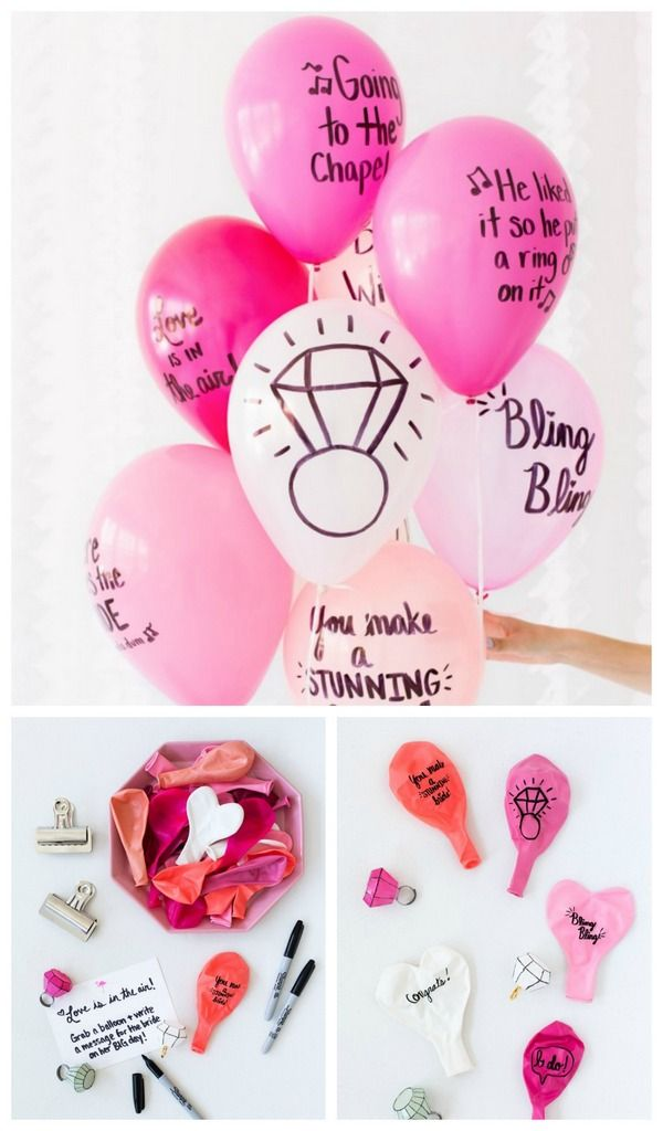 Last minute DIY balloon ideas - Writing cool messages on balloons