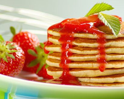 Agave Berry Breakfast Syrup