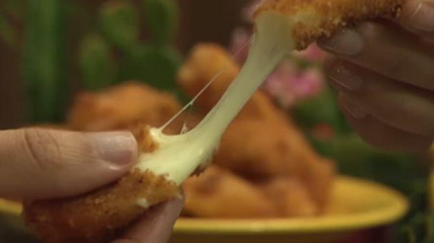 O melhor aperitivo do mundo: stikadinho de queijo