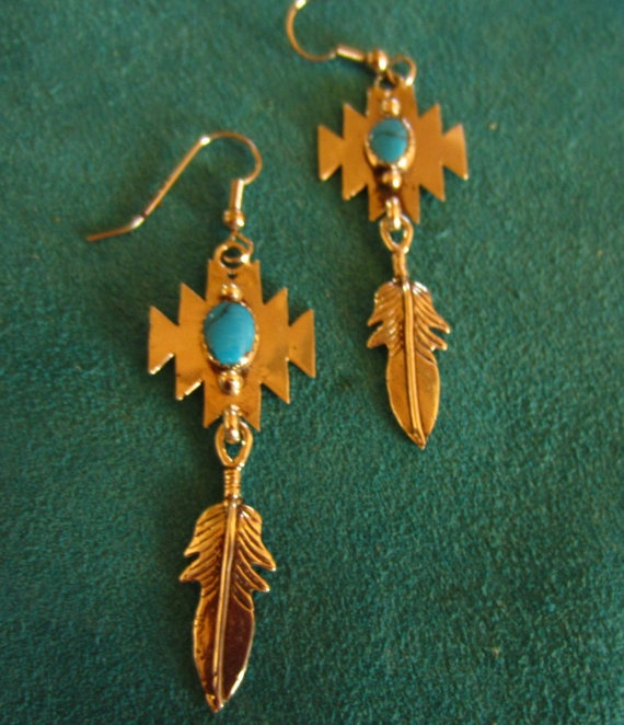273 best images about jewelry native american on for Native american feather jewelry