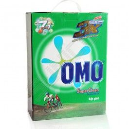 Omo Bleach Safe 3Kg Box:  OMO washing powder safe hands 7 in 1 New For the first time, OMO gives you a breakthrough technology with the particles swirling helps release energy more powerful detergent when washing.  From now on, you should not take time soaking clothes, do not rub, no need to purchase any additional tools that support, because OMO safe hands will help dislodge stubborn stains with seven outstanding benefits...