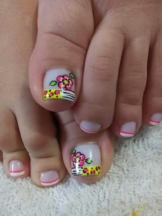 Toe nail art design ideas | nail art