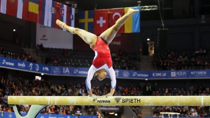April 21 2017 - Ellie Downie becomes first ever Briton to qualify for every individual final at the European Gymnastics Champs