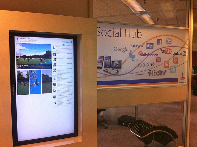 Social Hub Rabobank by marketingfacts, via Flickr
