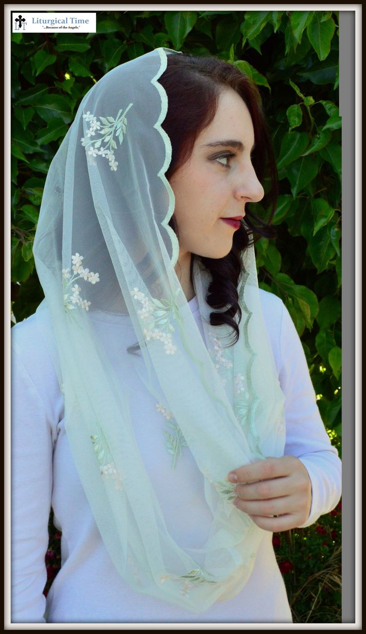 infinity veil. catholic chapel veils infinity scarf inspired lace veil mantilla christian headcovering for church, prayer