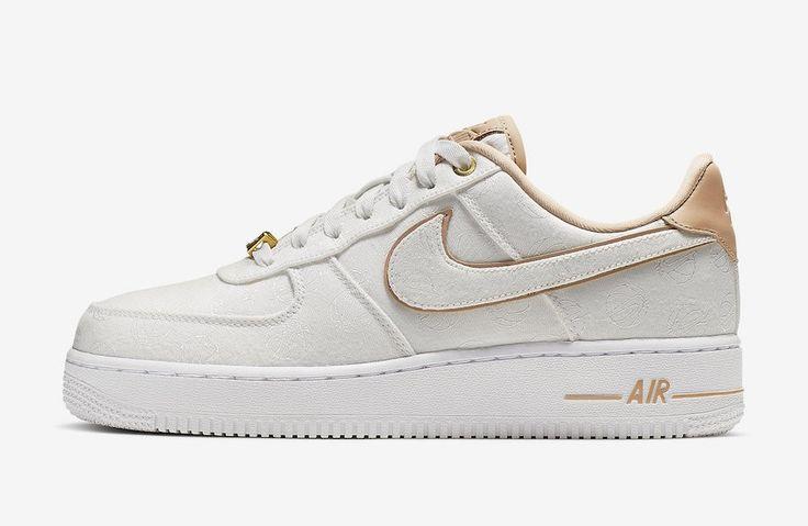 Nike Air Force 1 07 Lux Blanche 898889-102   Nike air, Nike, Nike ...