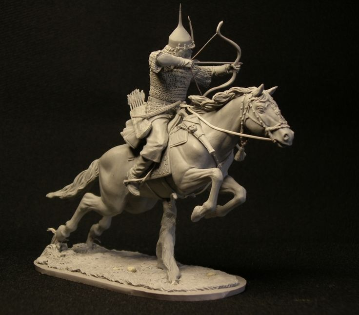 Russian manorial cavalry, 17th century. 75mm