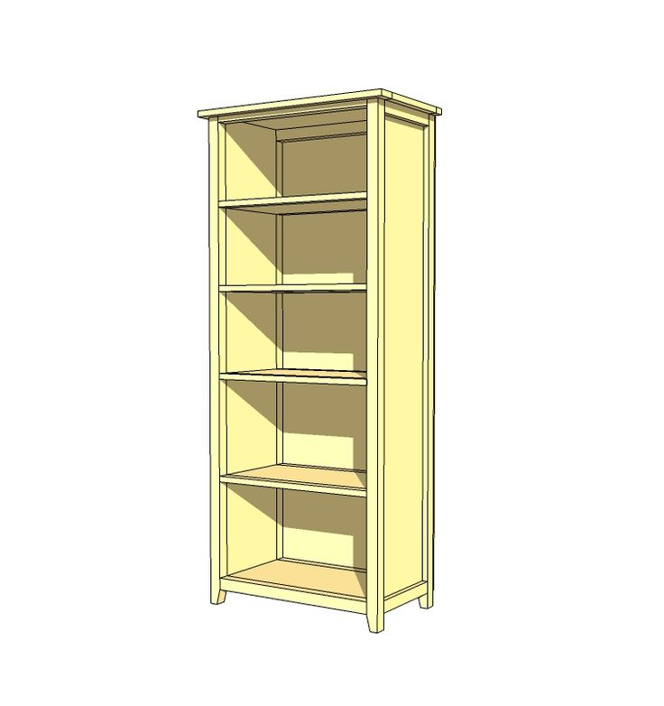 105 Best Images About Tall Bookcase Plans On Pinterest