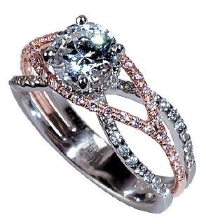 13 best images about put a ring on it on pinterest it for Three strand wedding ring