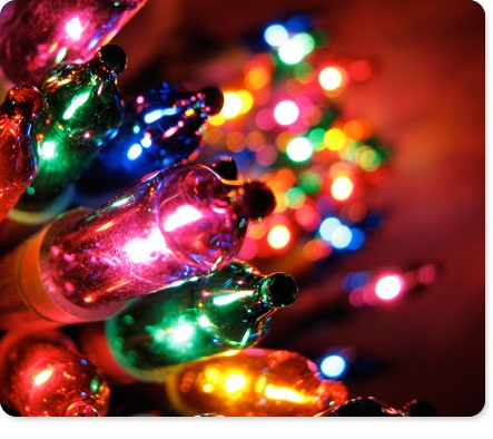 Rainbow lights take me back to christmas in the 80's