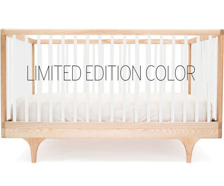 Kalon Caravan Crib In Limited Edition White Nursery