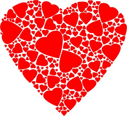Fractal heart | Public domain vectors