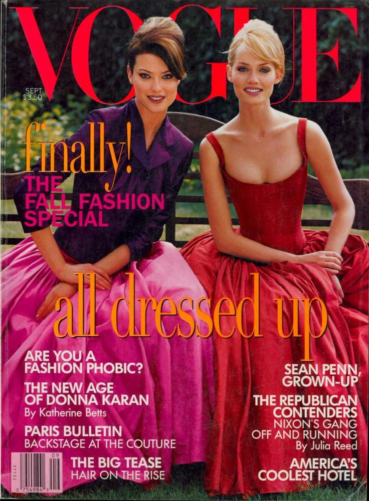 bohemea: 80s-90s-supermodels: Vogue US, September ...