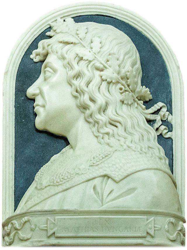 Matthias Corvinus / King of Hungary and Croatia -   Age of the two Hunyadis (1437–1490) on Hungay