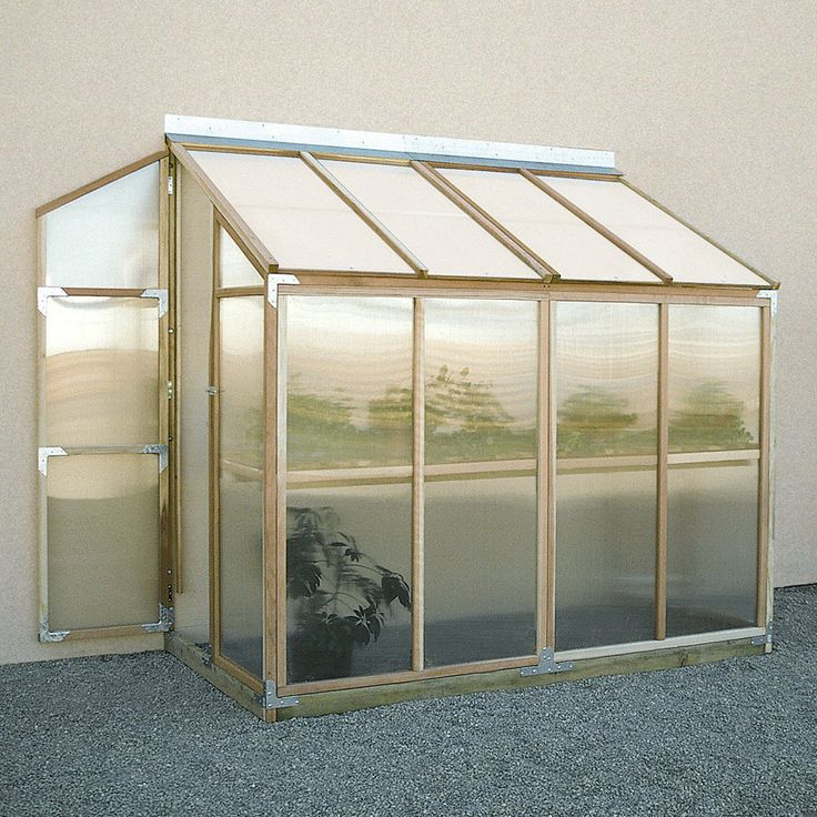 Sunshine Lean To 4 x 8 Foot Greenhouse Kit | from hayneedle.com