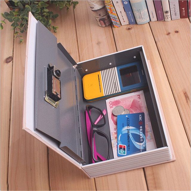 Storage Safe Box Dictionary Book Bank Money Cash Jewellery Hidden Secret Security Locker Tb Sale Review Security Safe Box Security Locker Safe Box