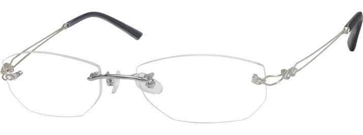 Rimless Glasses for Women - Rimless Eyeglass Frames | Zenni Optical