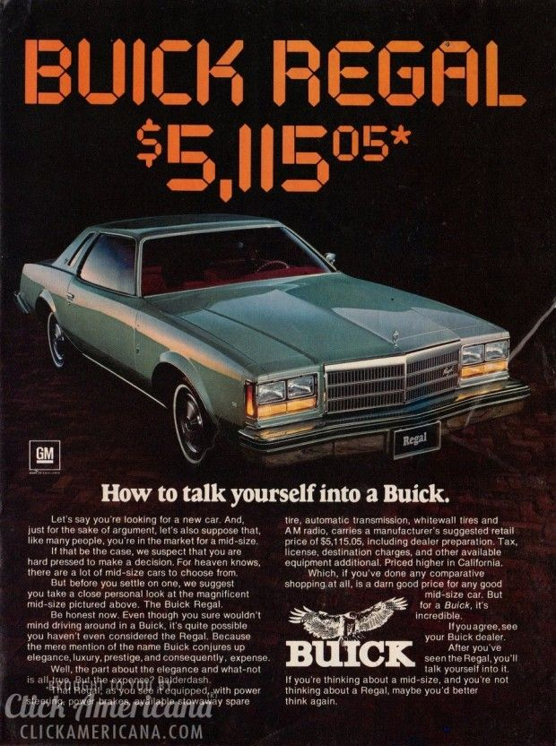 Buick Regal: The magnificent mid-size (1977)