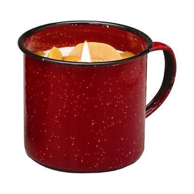 Swan Creek Candle Company Vintage Enamelware Mug Candles - Pumpkin/Vanilla