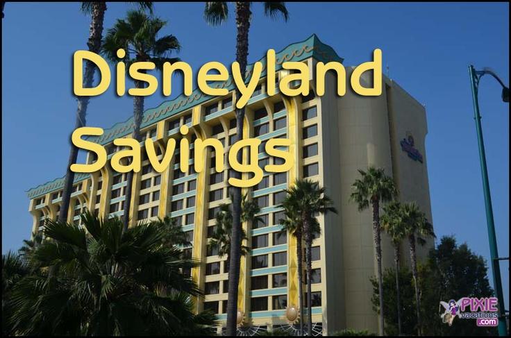 Disneyland Vacation Packages - Room Discounts Released #Disneyland
