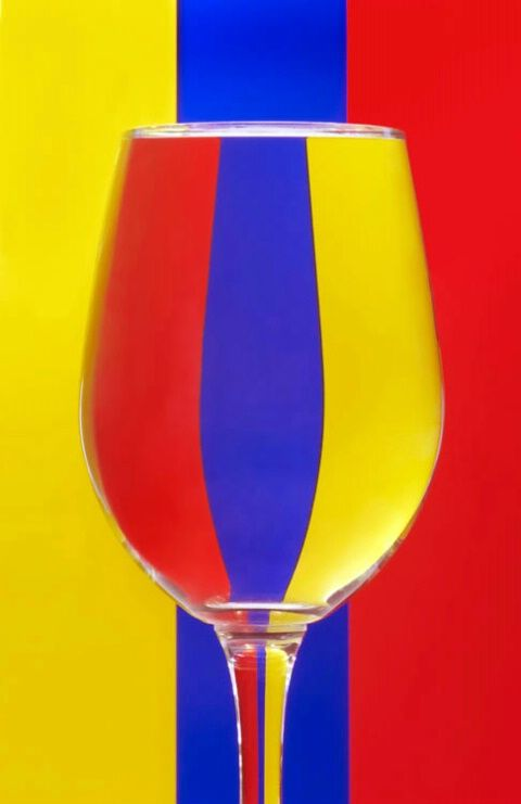 Primary colors: yellow, blue, red by Jacko