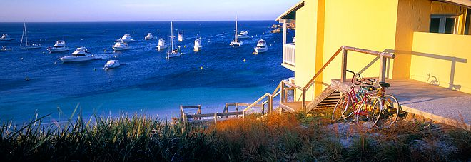 Geordie Bay, Rottnest Island by Christian Fletcher
