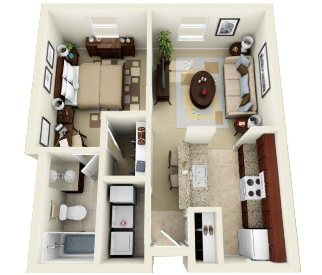 Eagle Lake Landing In 2021 Small Apartment Layout Apartment Layout Apartments For Rent