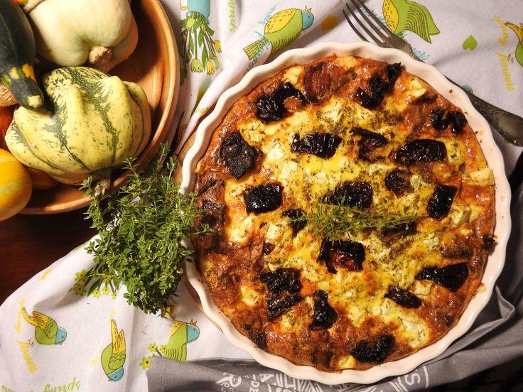 keto quiche z kozim serem - dieta ketogeniczna przepisy