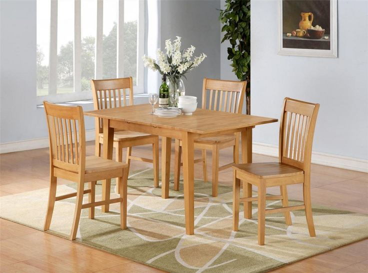 oak kitchen table and chairs calgary paint tables piece dining set wood sets white