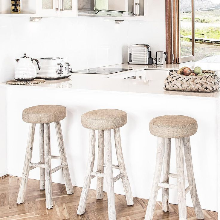 """""""The beautiful Jute Barstools......legs made with branches of a teak tree and foam seat covered in natural Jute. Wishing you all a very Merry Christmas  I…"""""""