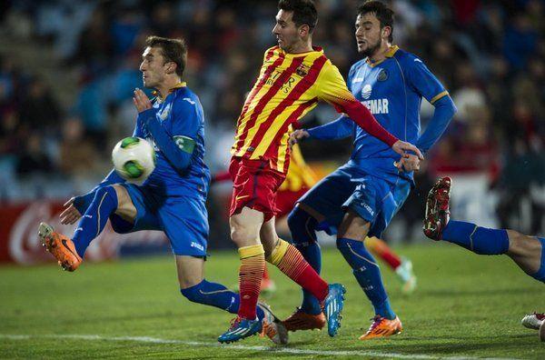 Leo Messi, goles de oro