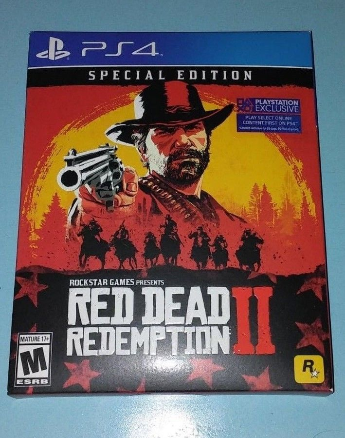 Red Dead Redemption 2 Special Edition 2018 Ps4 Sealed Shipped In A Box Reddeadredemption Gam Red Dead Redemption Red Dead Redemption Ii Xbox One Games
