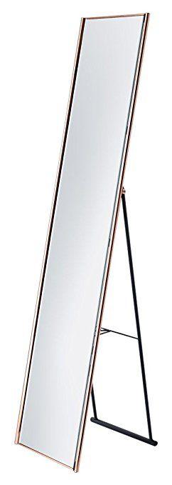 Adesso WK2444-20 Alice Floor Mirror, Copper Finish