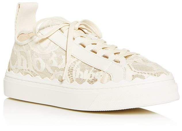 Lauren Lace Low-Top Sneakers Shoes