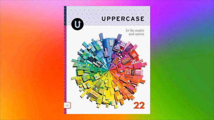 UPPERCASE magazine's colourful summer issue. http://shop.uppercasemagazine.com/collections/subscribe  Issue 22 of UPPERCASE magazine is insp...