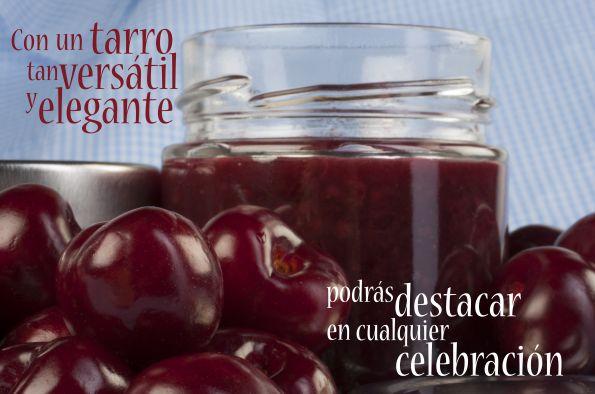 #Tarros de #vidrio Élite para la mermelada gourmet.
