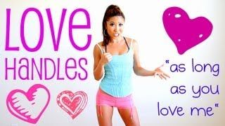 As Long as You Love Me Love Handles Challenge (candlestick dippers) - These killed my obliques for 4 days.
